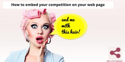 How to embed your competition on your web
