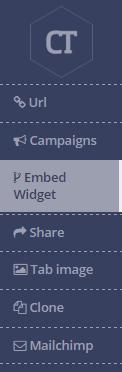 Embed widget