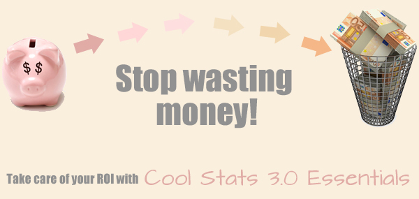 Stop wasting money! If you are not attracting new users, something's not right...