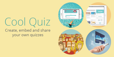 Cool Quiz: Create, embed and share your own quizzes