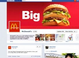 Timeline facebook Big Mac