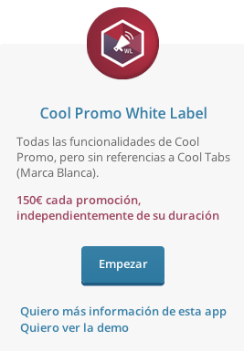 Instala tu Cool Promo White Label