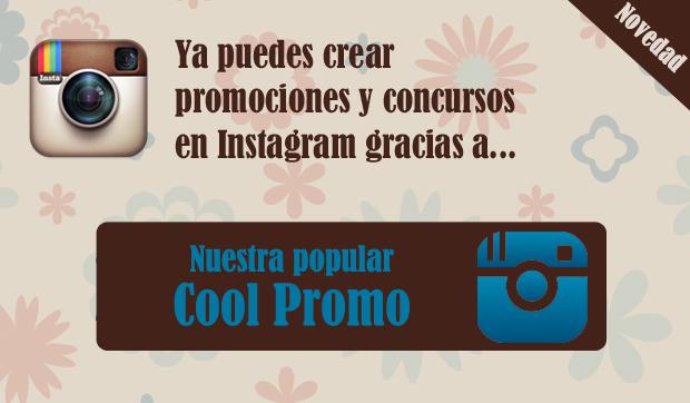 Cool Promo para concursos y promociones en Instagram
