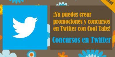 Concursos en Twitter con Cool Tabs