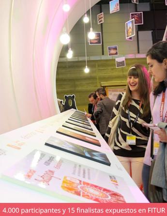 De lo digital a lo tangible: Los finalistas de un concurso de Instagram en Fitur 2014