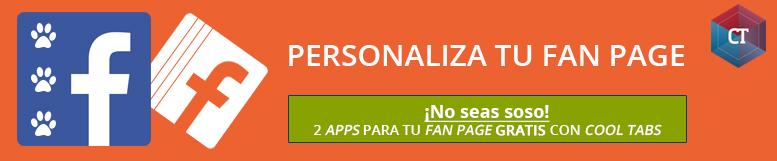 Personaliza fan page