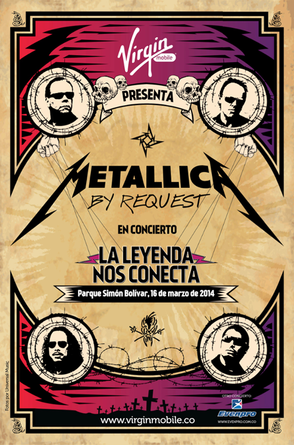 Virgin Mobile y Metallica
