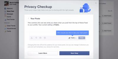 Comprobación de tu privacidad en Facebook