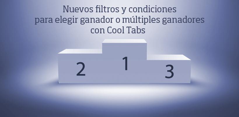 Selección de ganador con Cool Tabs