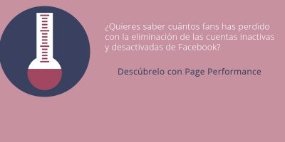 ¿Quieres saber cuántos fans has perdido con la eliminación de las cuentas inactivas de Facebook?