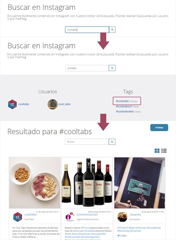 El Observador de Instagram: Resultados de un hashtag