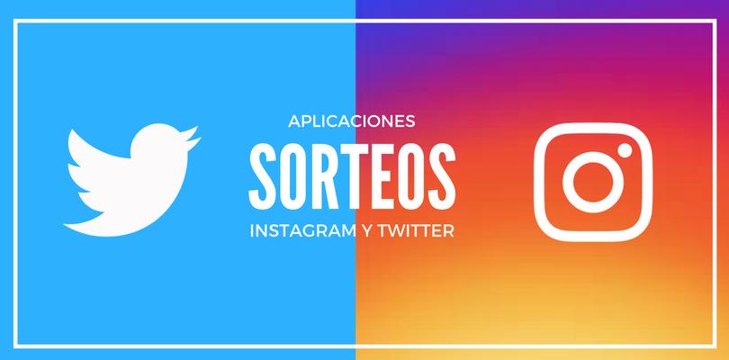 Sorteo Instagram Sorteo Twitter