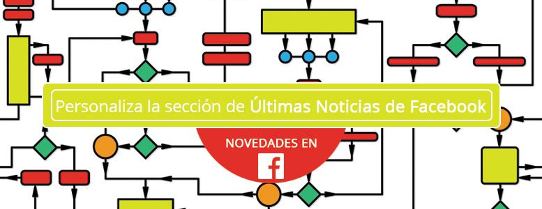Personaliza la sección de Últimas Noticias de Facebook