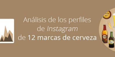 Análisis de los perfiles de Instagram de 12 marcas de cerveza
