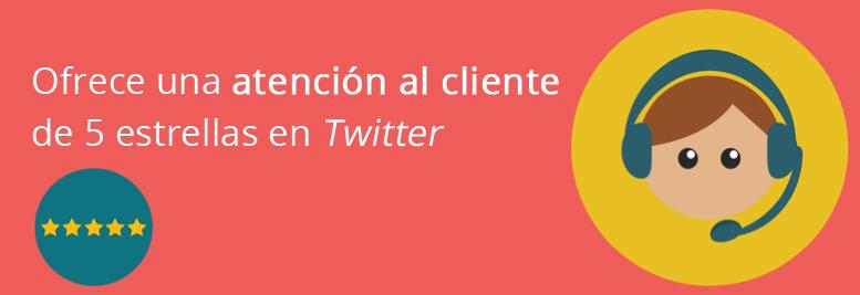 Atención al cliente en Twitter