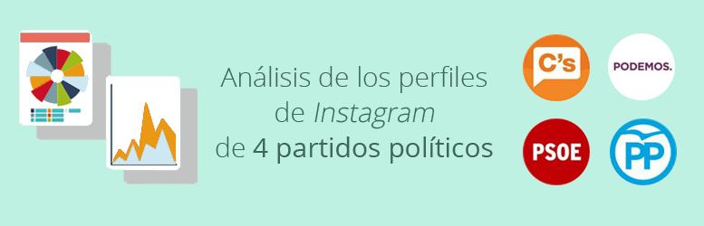 Análisis de los perfiles de 4 partidos políticos