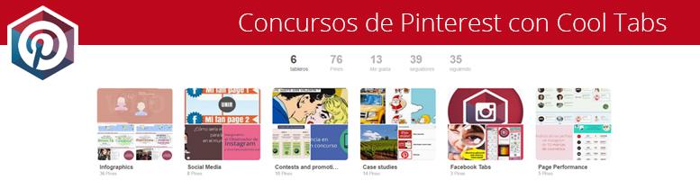 Pinterest: Concursos de pins y de repins