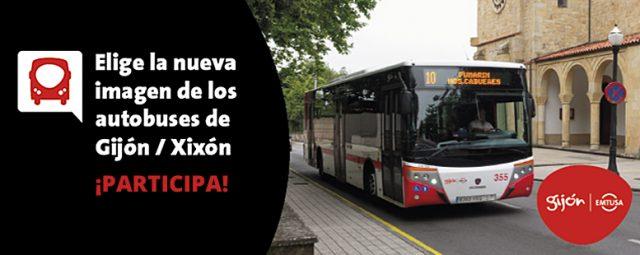 Gijón Emtusa: Votación del nuevo diseño de los autobuses urbanos