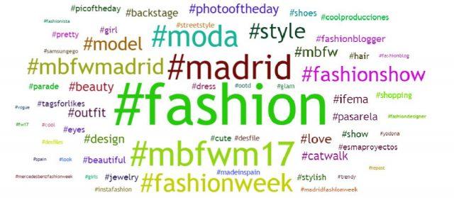 Nube hashtag mbfwm
