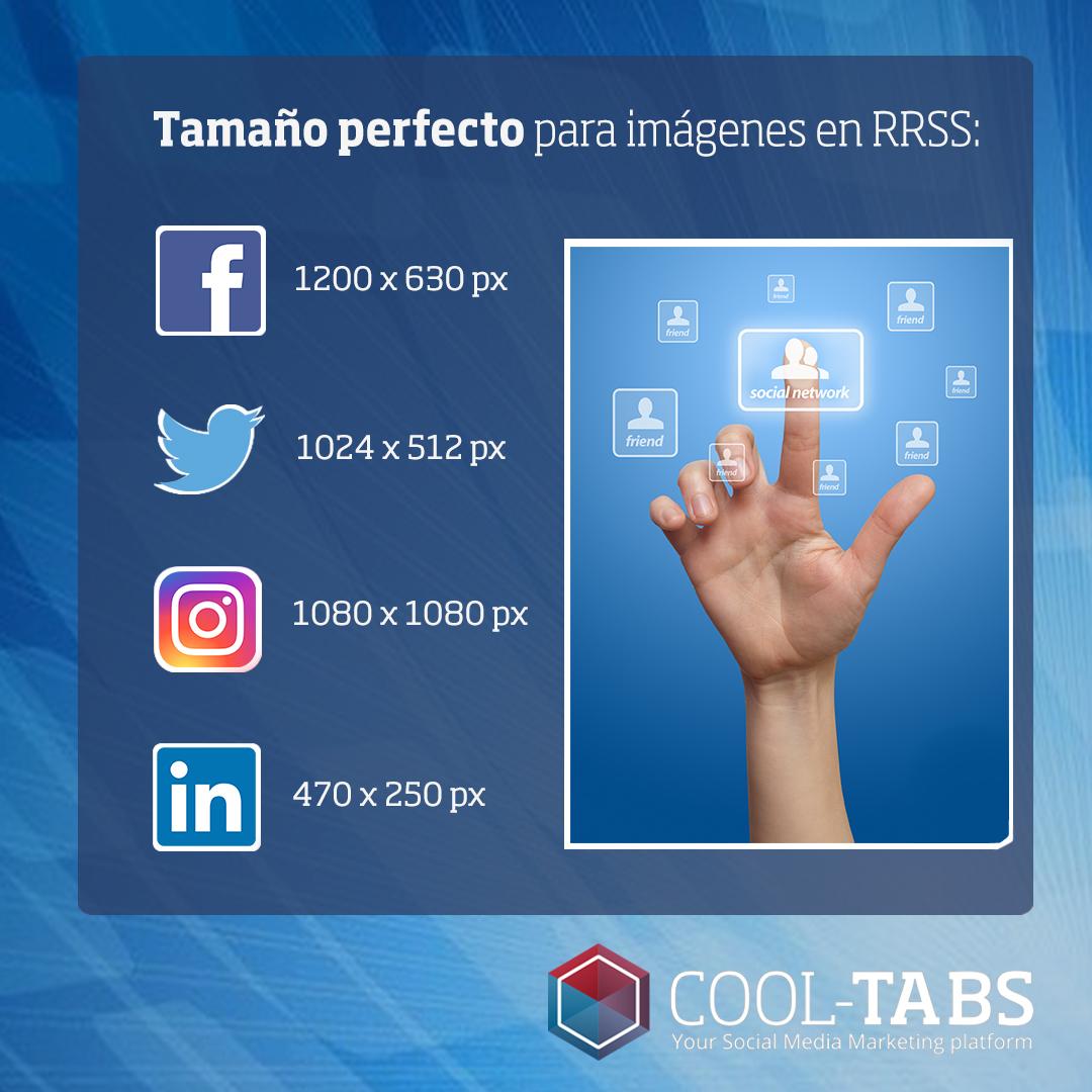 tamaños redes sociales