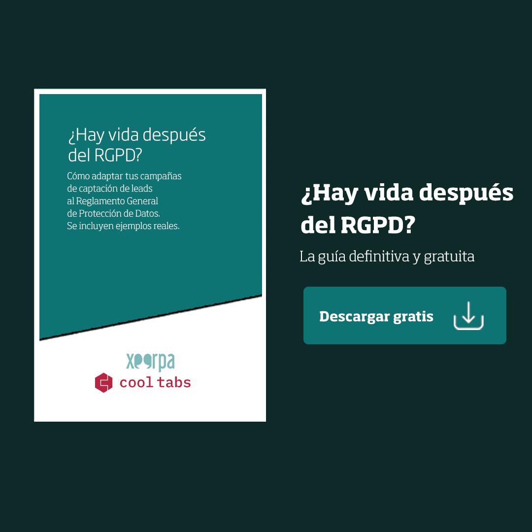Guía gratuita: cómo adaptar tus campañas a RGPD