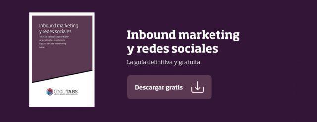 guía de inbound marketing y redes sociales