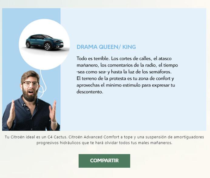 Citroën: test de personalidad