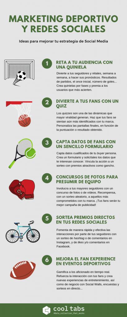 marketing deportivos redes sociales