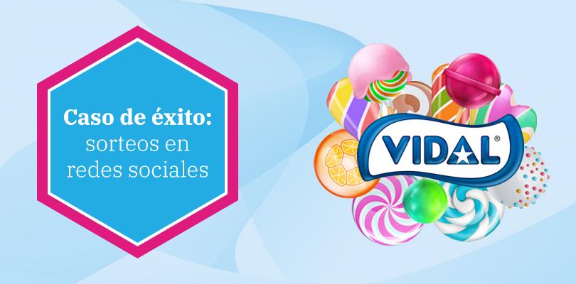 Vidal Golosinas: sorteos en redes sociales