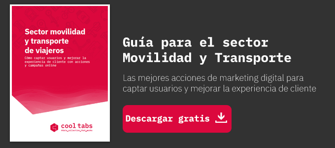 Guía marketing digital: sector movilidad y transporte