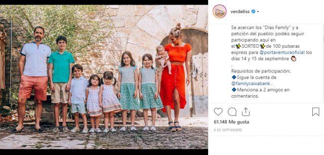 Sorteo con influencers en Instagram